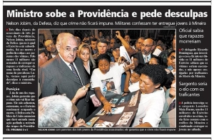 Jornal Extra, 18/06/08