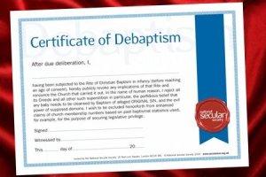 debaptism