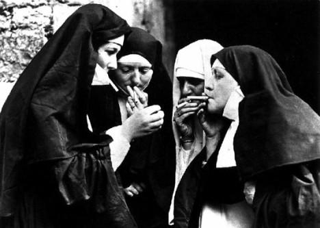 nunsmoking