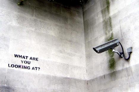 Intervenção urbana de Banksy
