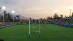 Estádio de Rúgbi no Parque Olímpico de Deodoro.