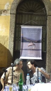 """Galotti e Pedro Paulo Malta no lançamento do livro de Custódio Coimbra e Cristina Chacel, """"Guanabara espelho do Rio"""""""